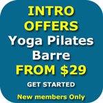 Intro offer Wollongong Yoga Pilates Barre Meditation Nidra