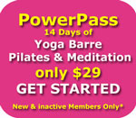 Yoga Pilates Barre Wollongong Pass