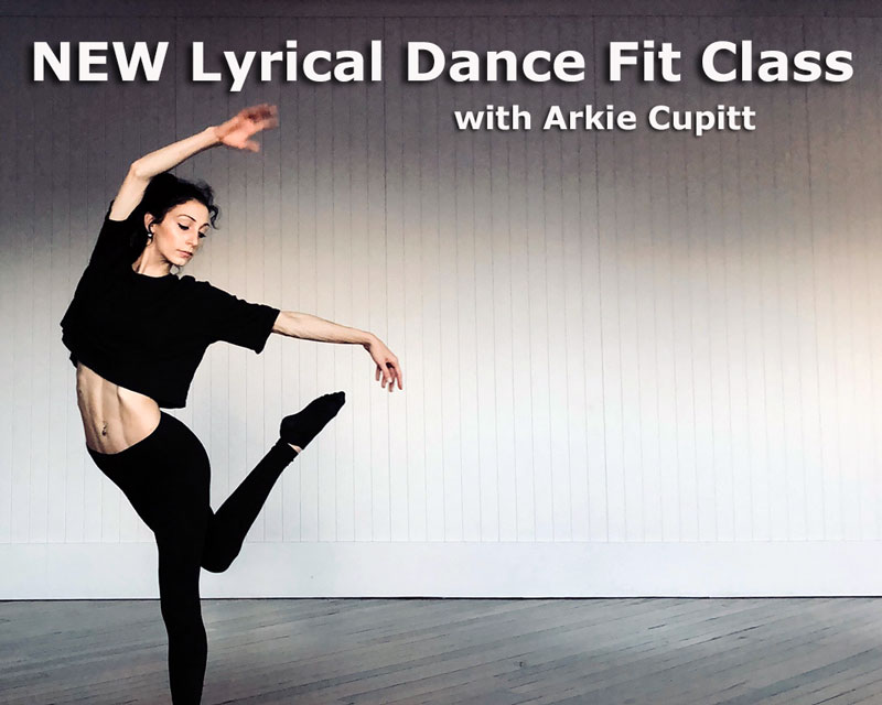 Lyrical Dance Fit Wollongong with Arkie Ballet Jazz Modern Creative