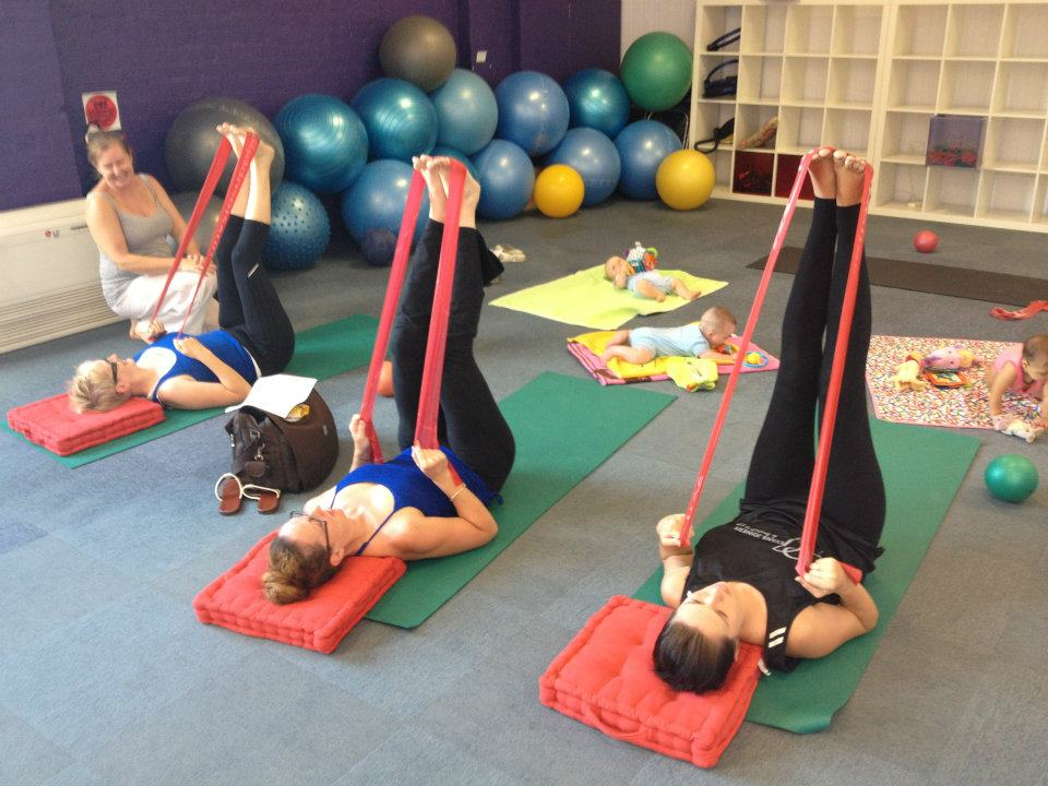 wollongong pilates mums babies post natal classes
