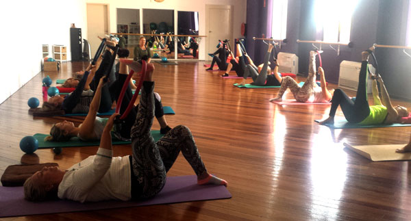 beginners pilates wollongong