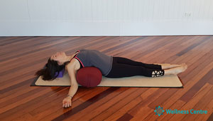 wollongong yin restorative yoga stress relaxation stretch recovery