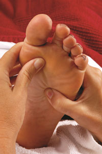 reflexology wollongong foot massage