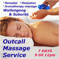 Mobile Outcall Massage Service Wollongong Illawarra Home Hotel